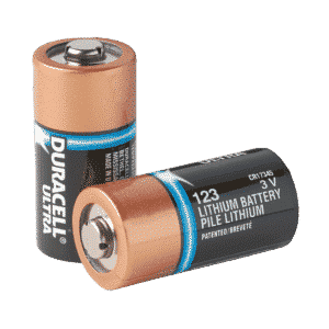 Batterier til AED Plus hjertestarter 1