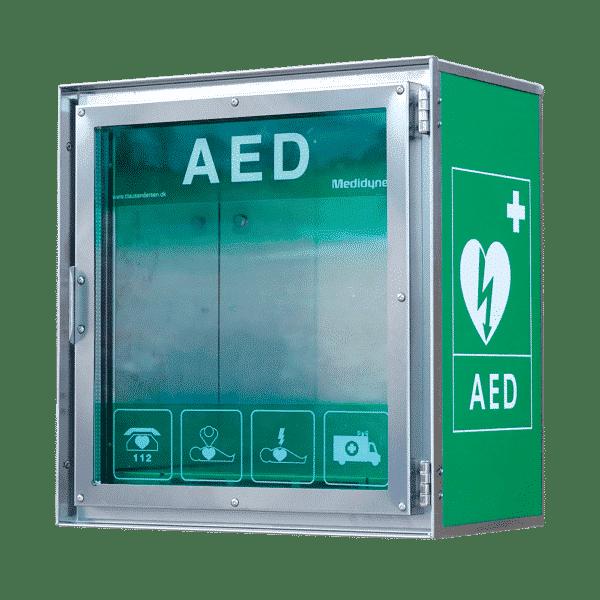 CA HSS100P udendørs hjertestarterskab