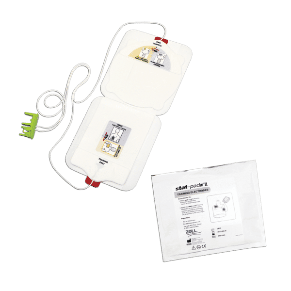 8900-0805-01 Stat-Padz II træningsstødpads til ZOLL AED Plus Trainer 2. Gel pads