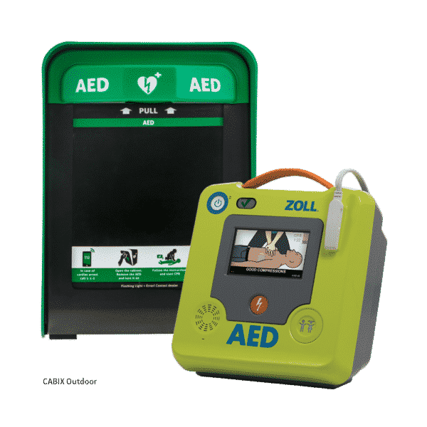 ZOLL AED 3 Semi + Cabix Outdoor