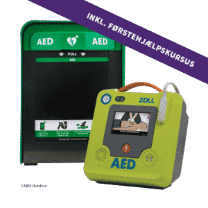 ZOLL AED 3 Semi + Cabix Outdoor + 4 timers førstehjælpskursus