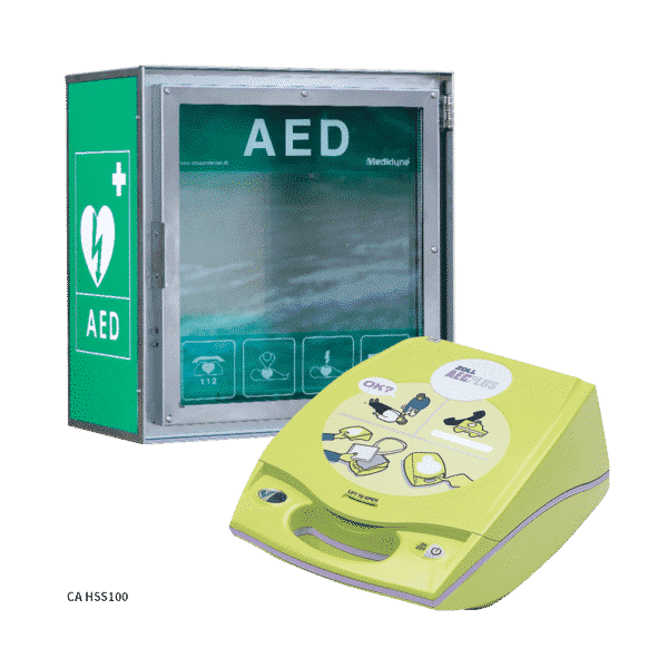 ZOLL AED Plus + Claus Andersen