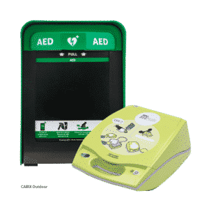 ZOLL AED Plus + Cabix Outdoor