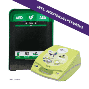 ZOLL AED Plus + Cabix Outdoor + 4 timers førstehjælpskursus