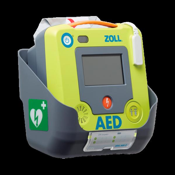 ZOLL AED 3 Hjertestarter i vægbeslag