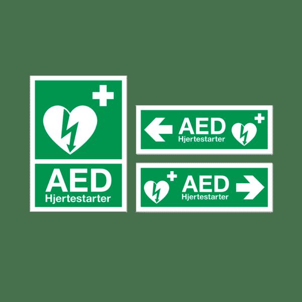 ZOLL AED 3 Hjertestarter - hjertestarterskilte