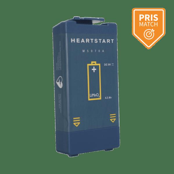 Batteri til Philips HeartStart HS1 og FRx hjertestarter