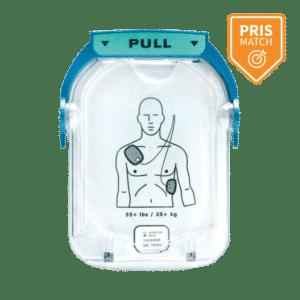 Voksen elektrode til Philips HeartStart HS1 hjertestarter