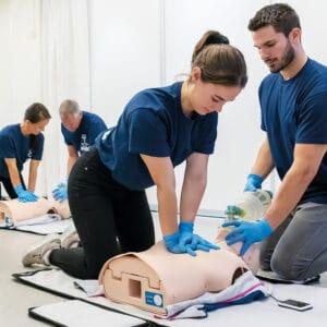 Førstehjælpskursus for førstehjælpere med særligt ansvar